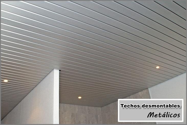 Techos desmontables met licos escayolistas valencia - Falsos techos para banos ...