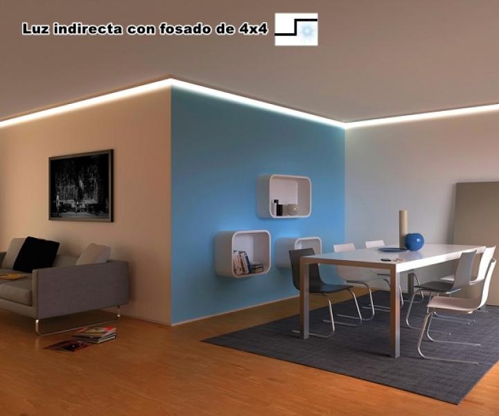 Luz indirecta en techos y paredes escayolistas valencia - Luz indirecta escayola ...