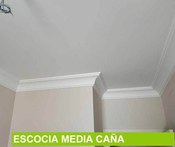 Molduras de escayola para techos modernas fabulous - Molduras de escayola modernas ...