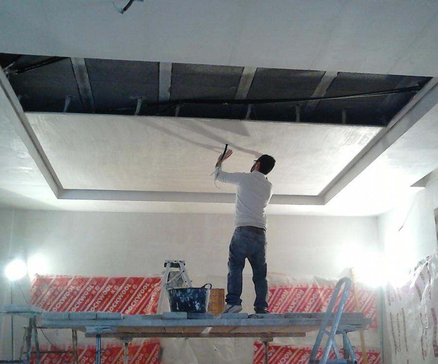 Elegir entre escayola o pladur escayolistas valencia - Como colocar pladur en techo ...